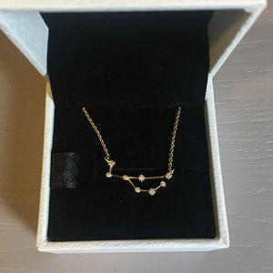 Virgo Constellation Necklace